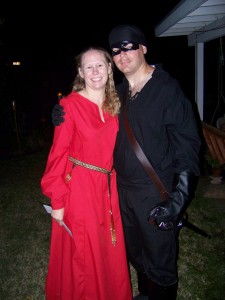 Buttercup and The Dread Pirate Roberts