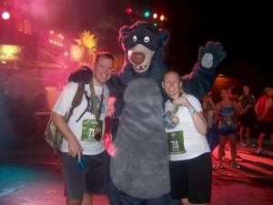 Jess and Matt with Baloo